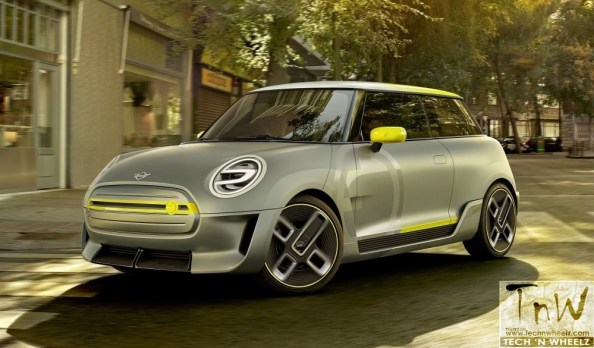 MINI ELECTRIC CONCEPT- the future of urban electric mobility