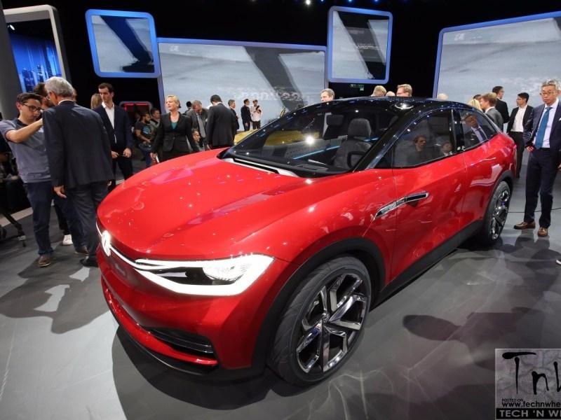 2017 Frankfurt Motor Show: Volkswagen Cross Concept