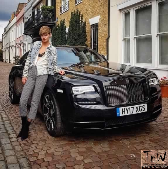 Rolls-Royce joins with Storm Models for London Fashion Week 2017