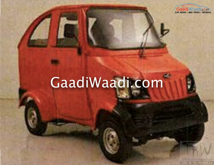 Bajaj Qute & Mahindra Quadricycle launch in months