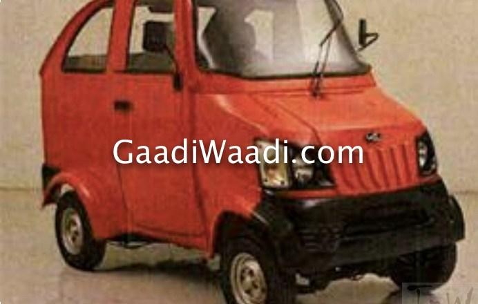 Bajaj Qute & Mahindra Quadricycle launch in months
