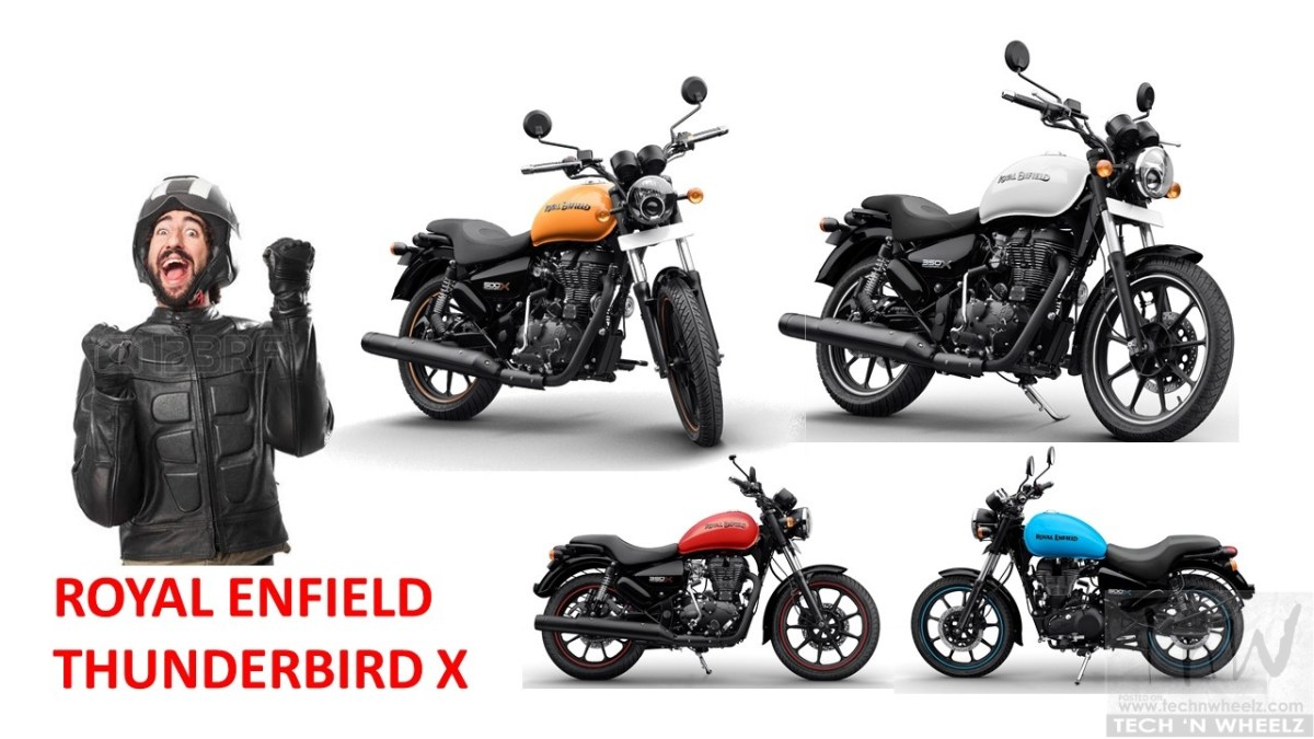 Royal Enfield Thunderbird 500X & 350X launched. Image gallery inside