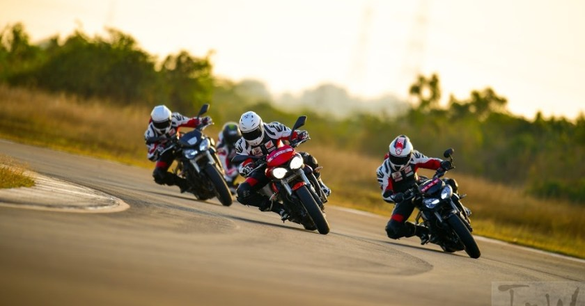 Triumph partners with California Superbike School yet again