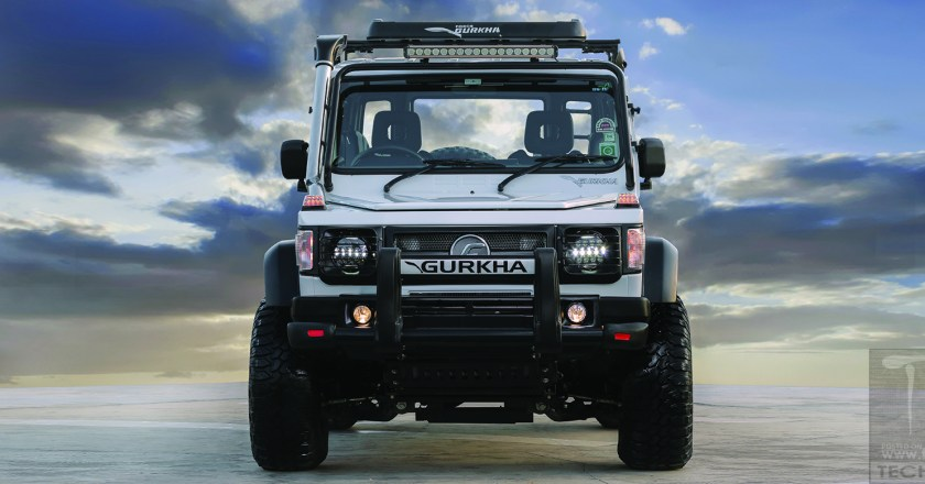 Force Gurkha updated with ABS safety system