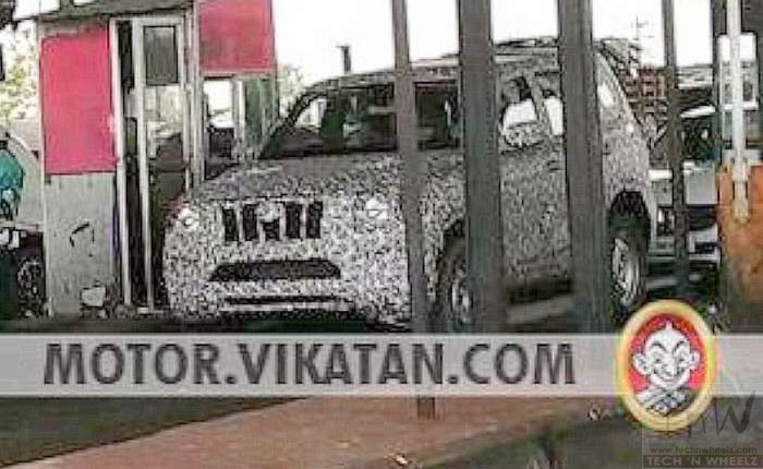 2020 Mahindra Scorpio SUV spied under heavy camo