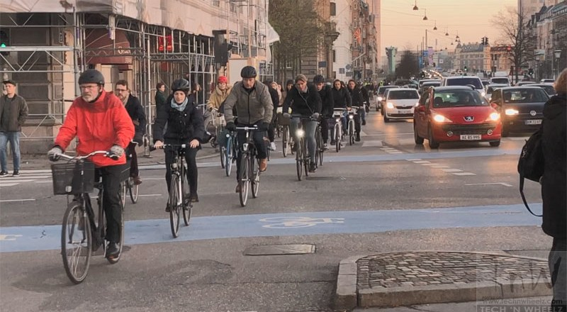 Emissions reductions are only possible if you put people on bikes, not in EVs