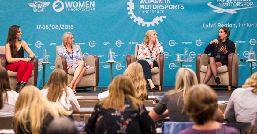 First Women in Motorsport conference in Finland