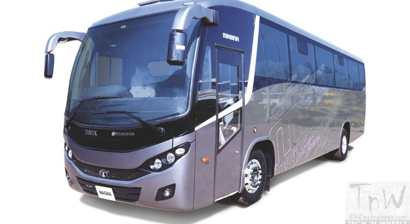 Tata Motors showcases new public transportation vehicles at Prawaas 2019