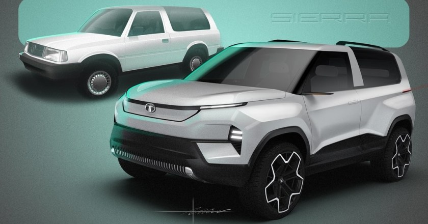 Image Gallery: Tata Sierra EV Concept 2020