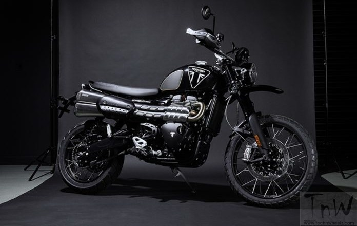 Triumph Scrambler 1200 Bond Edition. Limited to 250 units