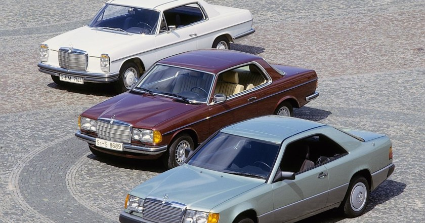 The history of the Mercedes-Benz E-Class Coupes and Cabriolets