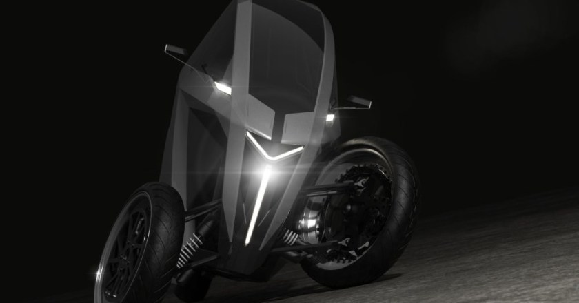 AKO Trike with leaning mechanism from Lithuania-based EV startup
