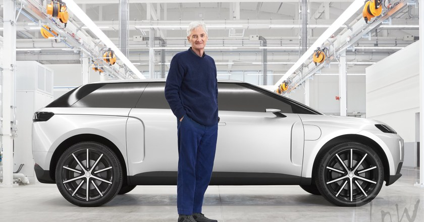 Dyson N526 electric car was killed. Now revealed
