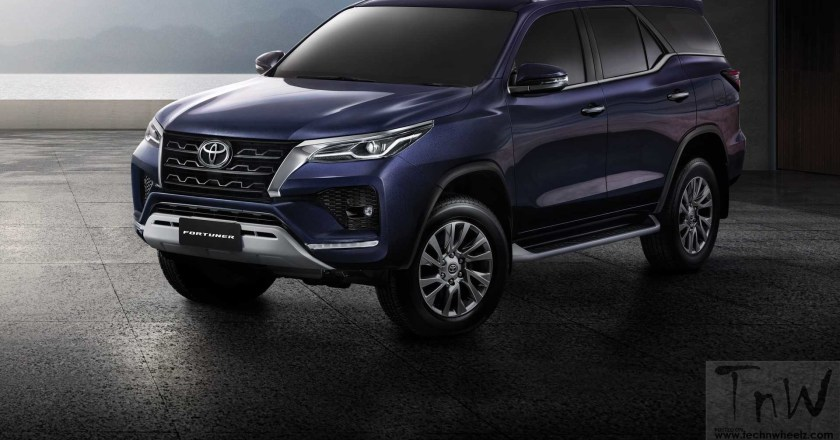 2021 Toyota Fortuner revealed – Bold & Powerful