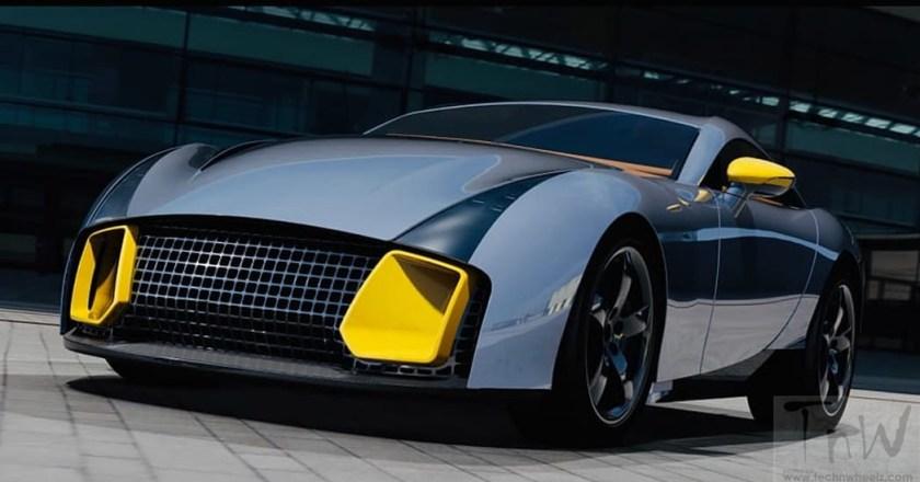 F1 supplier Mulholland Automotive unveils its first car – Legend 480 coupe