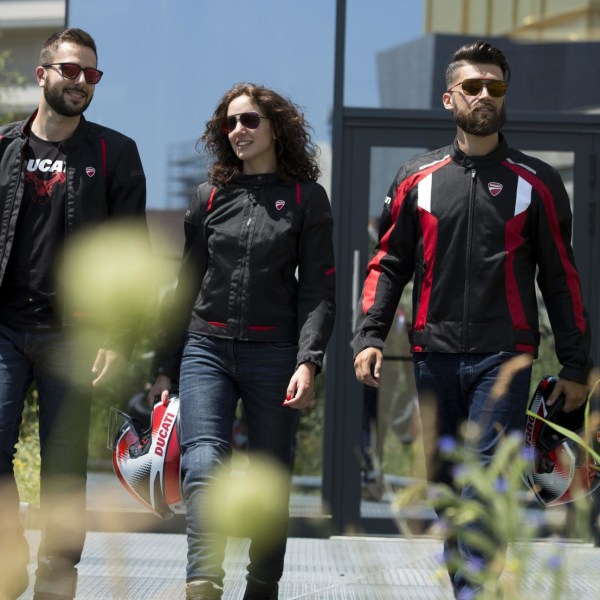 Ducati unveils ventilated riding jackets