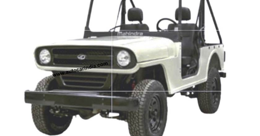 2021 Mahindra Roxor gets unique front styling. Images leaked