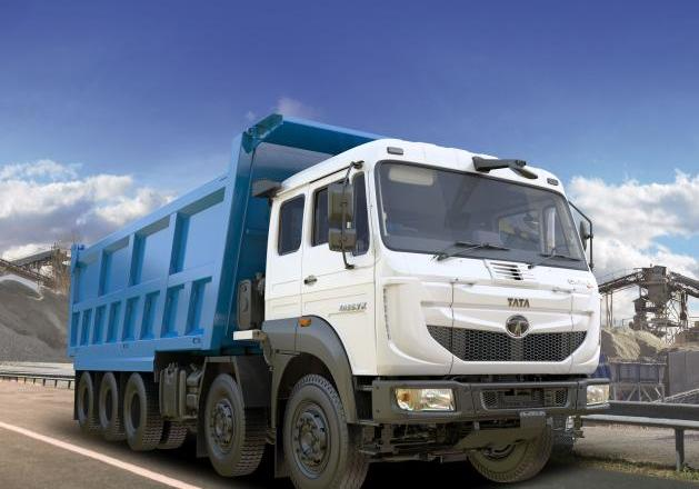 Tata Motors launch India's first 16-wheeler, 47.5 tonne tipper truck – Signa 4825.TK