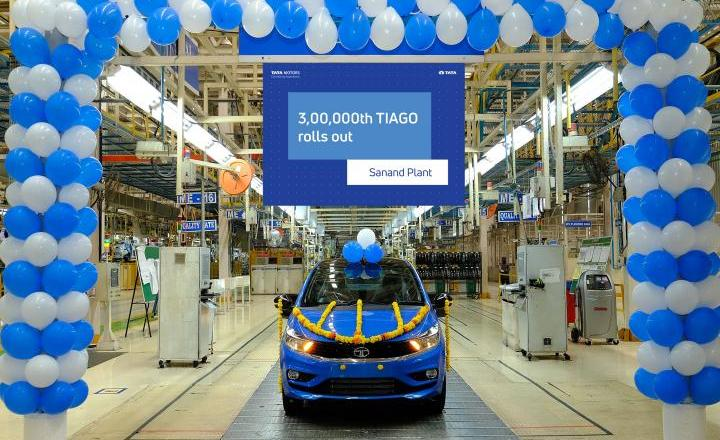 3,00,000th Tata Tiago rolls off Sanand plant
