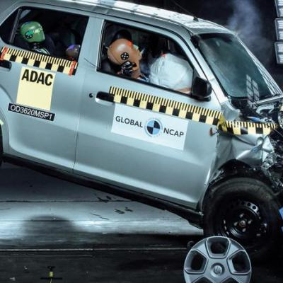 Maruti Suzuki S-Presso scores Zero in Global-NCAP crash tests