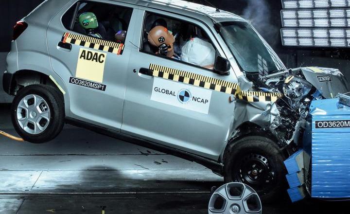 Maruti Suzuki S-Presso scores Zero in Global-NCAP crash tests