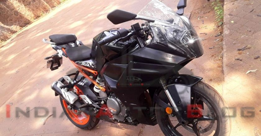 2021 KTM RC 390 Spied in India without camouflage
