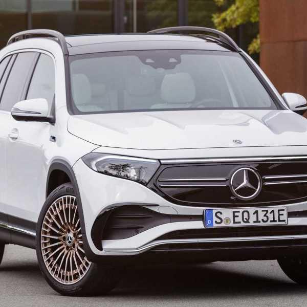 2022 Mercedes Benz EQB debuts as seven-seater EV