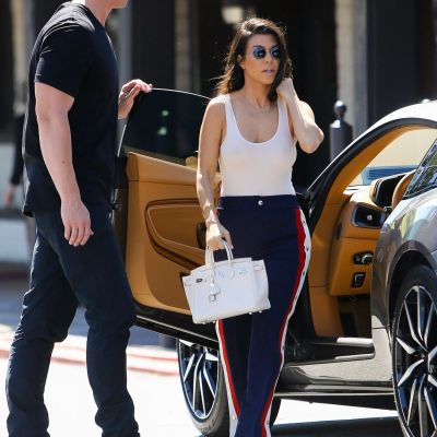 Kourtney Kardashian's collection of cars has it all from luxury to performance