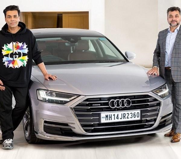 Karan Johar buys an Audi A8L luxury sedan