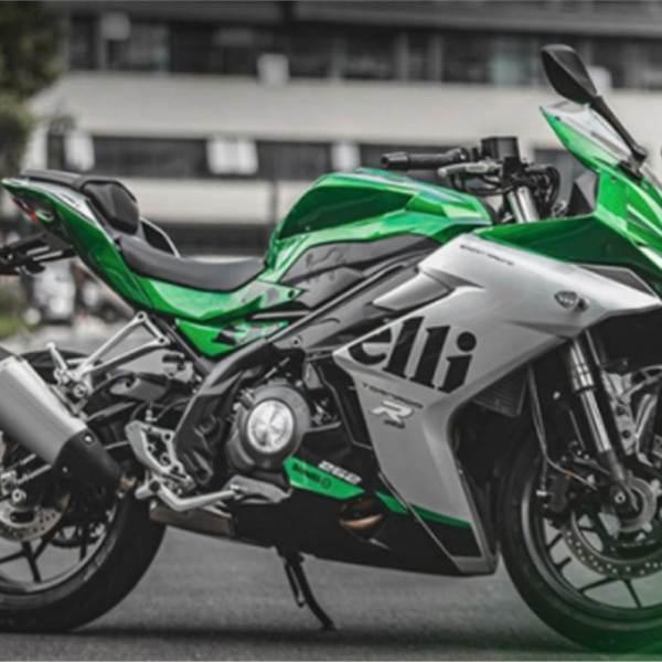 Benelli's new quarter-litre sport bike, the 252R unveiled