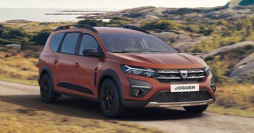 Dacia (Renault) Jogger 3-row MPV revealed