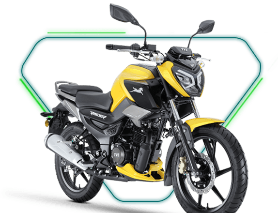 TVS Raider 125cc motorcycle launched at INR 77,500/-
