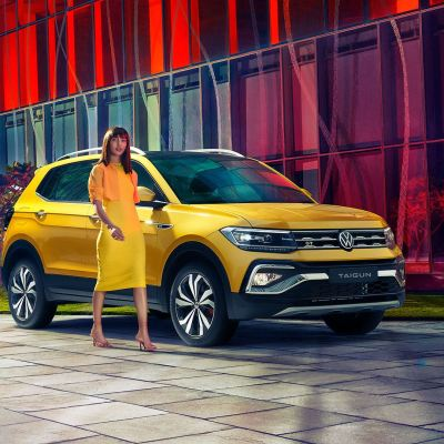 Volkswagen Taigun launched at INR 10.50 lakh. Gets 7 variants with 2 turbo-petrol engine options