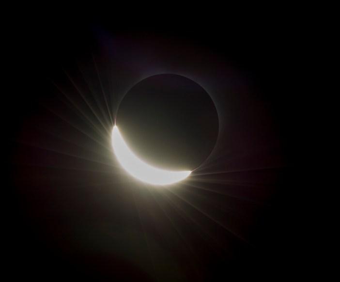 Saulės užtemimas. NASA / Aubrey Gemignani nuotr.