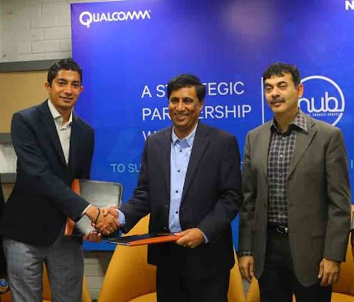 """Jim Cathey, senior vice president and president, Asia Pacific and India, Qualcomm International said, """"Our collaboration with T-Hub, will help us scale rapidly, utilising their infrastructure and resources and bring path-breaking innovations to India."""" (Photo/Qualcomm)"""