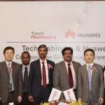 As per the agreement, Tech Mahindra will market Huawei's enterprise products and services across 44 countries including India. (Photo/Tech Mahindra)