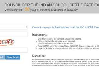 The Council for Indian School Certificate Examination will declare ICSE Class 12 results 2017, ICSE Class 10 results 2017 today at 3 pm (Web Image)