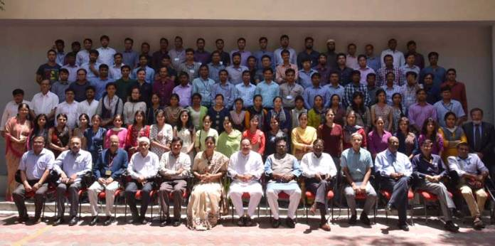 National Institute of Health and Family Welfare (NIHFW) has designed a nine week training module for the new recruit, Nadda, appreciated the designing of this nine week training module for the new recruits. (Photo/PIB)