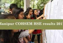 After a long wait, the Council of Higher Secondary Education, Manipur (CoHSEM) declared COHSEM Class 12 HSE results 2017 at manresults.nic.in (Photo/Web)