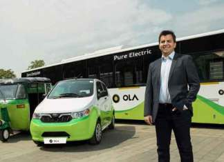 Ola and Mahindra have partnered with the Government of India to build an electric car ecosystem in Nagpur (Photo/Ola)