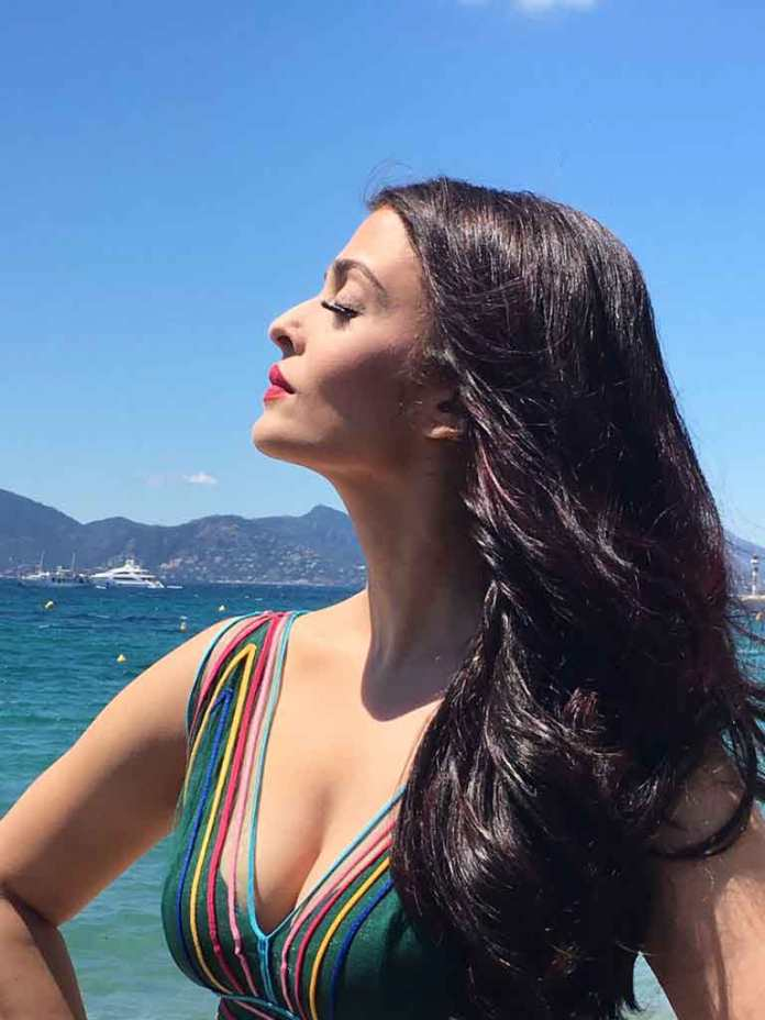 Aishwarya Rai Bachchan, first walked the stairs of the Cannes film festival back in 2002 when she presented her film, Devdas at the fest (Photo/L'Oréal Paris India-Twitter)