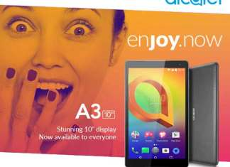 Alcatel A3 10-inch Tab is likely to be priced under Rs 12000 (Photo/Alcatel)