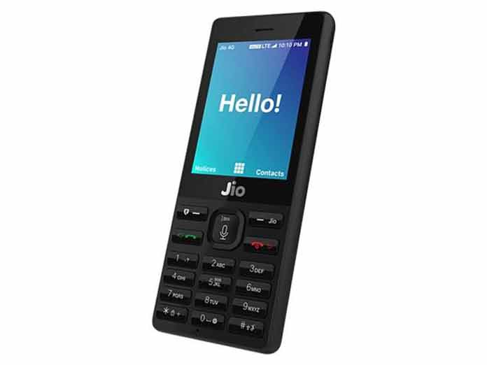 People can pre-book JioPhone either on the online website of the Jio or at MyJio App. (Photo/Reliance Jio)