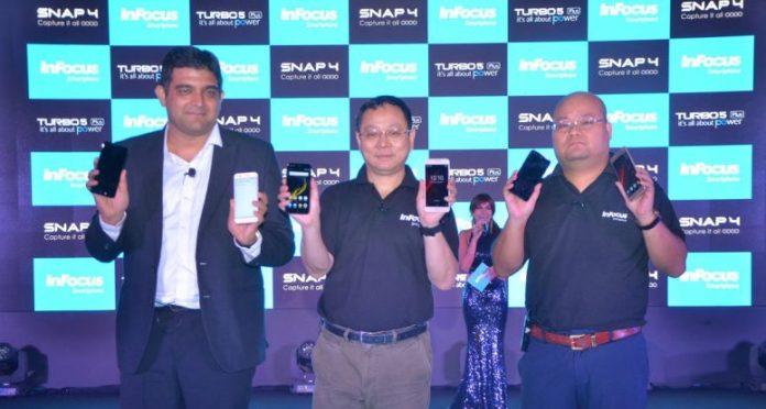 InFocus Snap 4, Turbo 5 Plus, InFous launch, Smartphone Launch, Mobile Phone, InFocus Snap 4 price, InFocus Snap 4 specs, InFocus Snap 4 features, Turbo 5 Plus price in India, Turbo 5 Plus features, Turbo 5 Plus Camera, Turbo 5 Plus Review, InFocus Snap 4 Review, InFocus news, Smartphone launch news