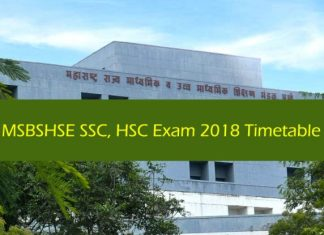 MSBSHSE HSC Exam 2018 Timetable, MSBSHSE SSC Exam 2018 Timetable, Maharashtra Board 2018 exam schedule, SSC Exam dates, HSC exam dates, Maharashtra State Board of Secondary & Higher Secondary Education, MSBSHSE, MSBSHSE News, Maharashtra News, Pune News