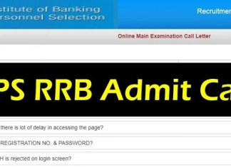IBPS RRB Admit Card, IBPS admit card, IBPS Office assistant admit card, IBPS RRB call letter, IBPS main admit card, IBPS main call letter, RRB office assistant exam, Education, Career, RRBs