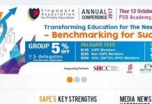 Singapore, SAPE, Singapore Association for Private Education, Education, Education in Singapore, Brandon Lee, Leon Choong, Kaplan
