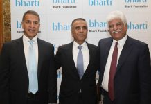 Rajan Bharti Mittal, Sunil Bharti Mittal, Rakesh Bharti Mittal, Bharti, NGO, Bharti Foundation, Donation, Technology