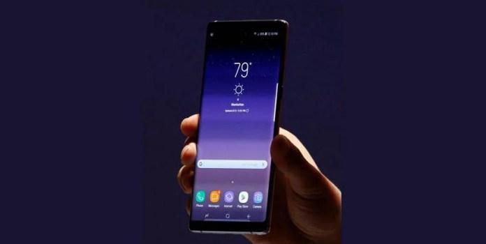 Microsoft, Samsung Galaxy Note 8