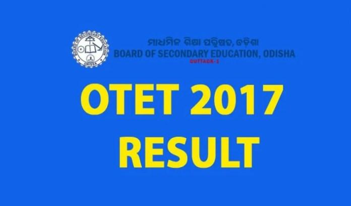 OTET, OTET 2017, OTET 2017 Result, OTET Result 2017, Odisha TET, Odisha, OTET 2017 Marks, OTET 2017 Results